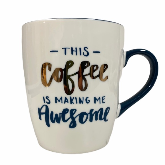 Threshold Other - THRESHOLD Porcelain -This Coffee Makes Me Awesome